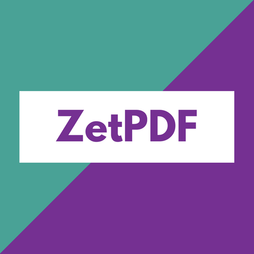 ZetPDF - .NET library for adding PDF capabilities in your .NET applications